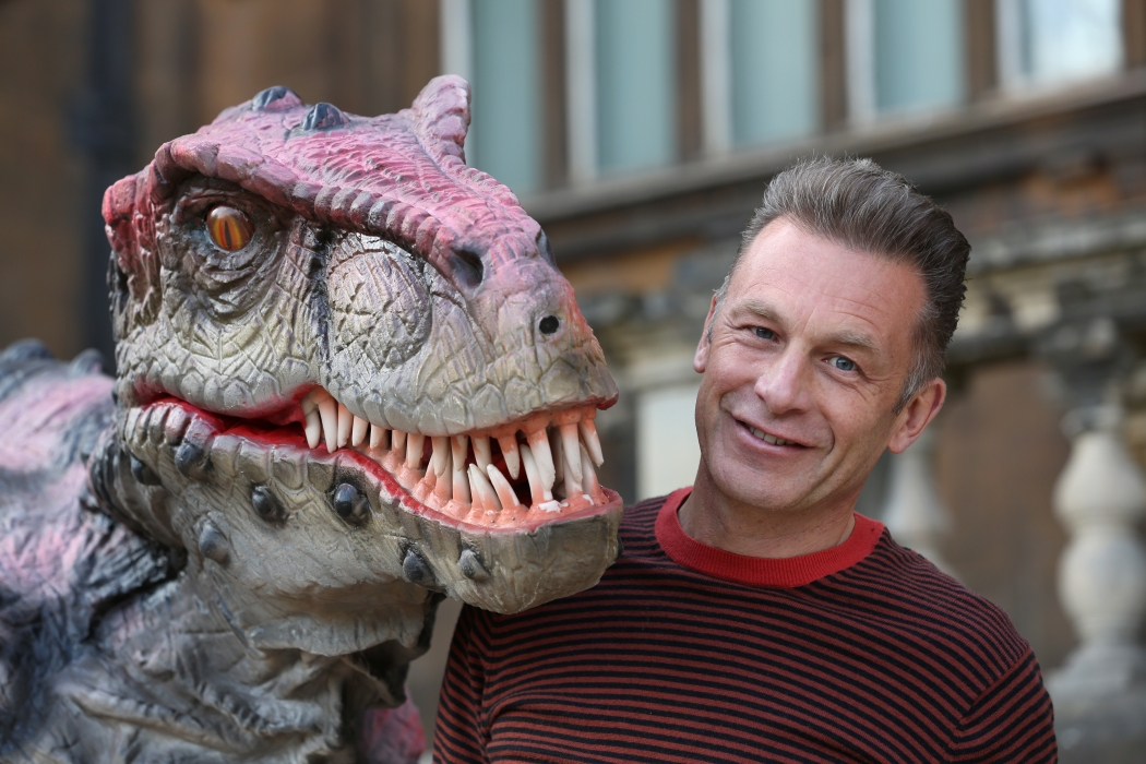 Chris Packham is supporting Dinosaurs of China