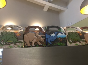 Dinosaur lunches